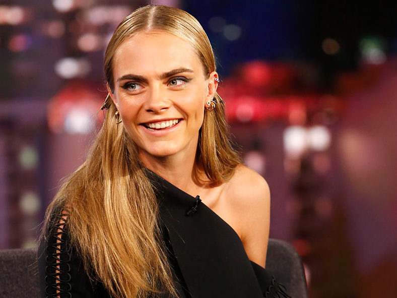 Cara Delevingne interviews herself and we just cannot look away