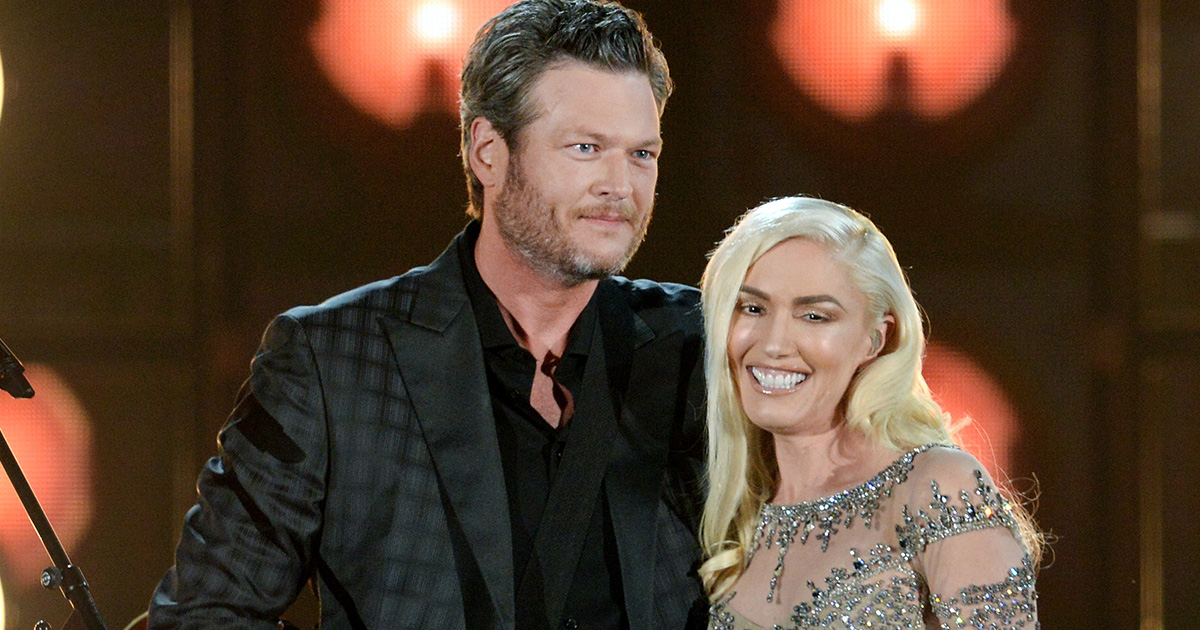 Blake Shelton got adorably starstruck by Gwen Stefani *after* they started dating
