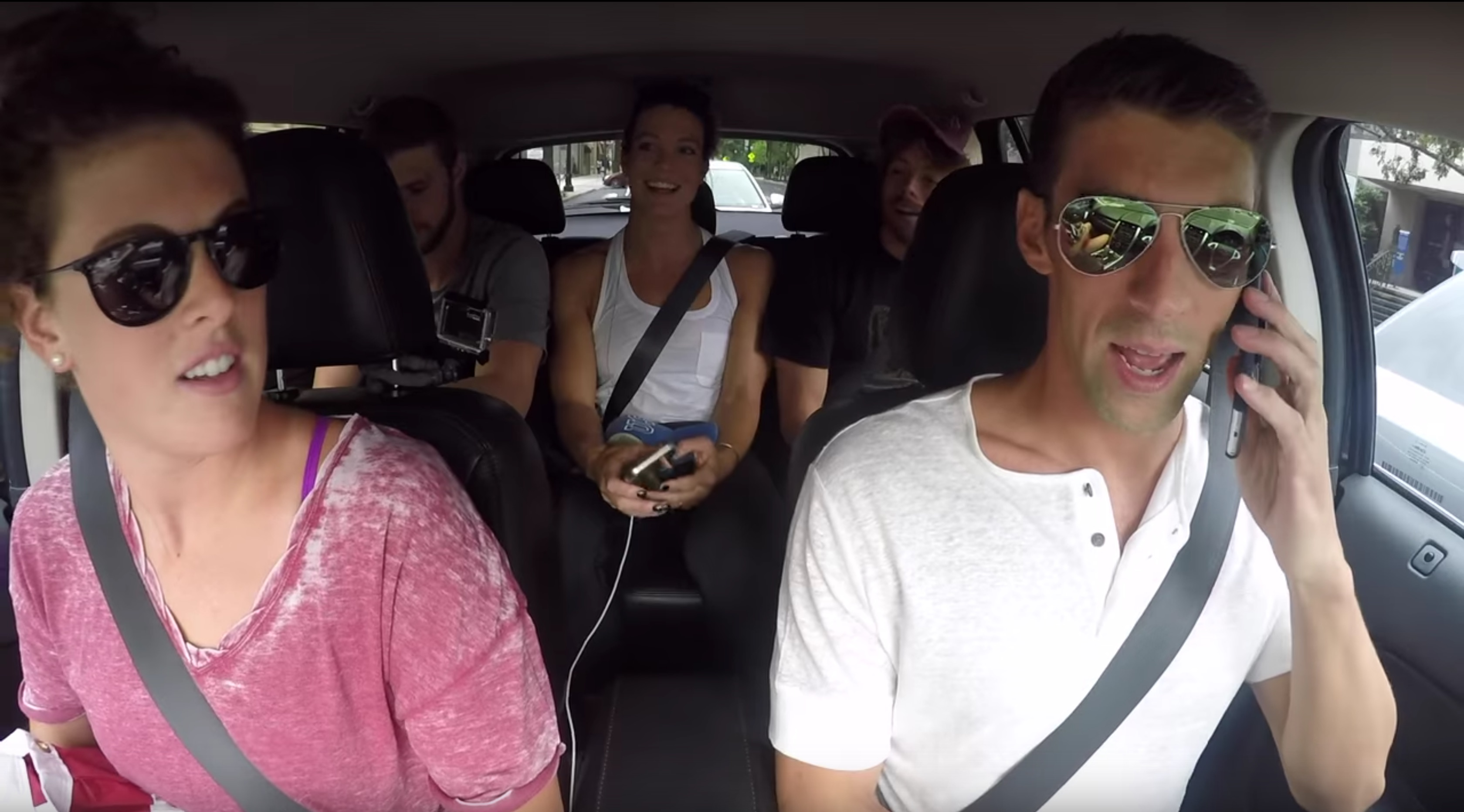 The USA Olympic Swim team just lip synced every song you're embarrassed to have on your iPod