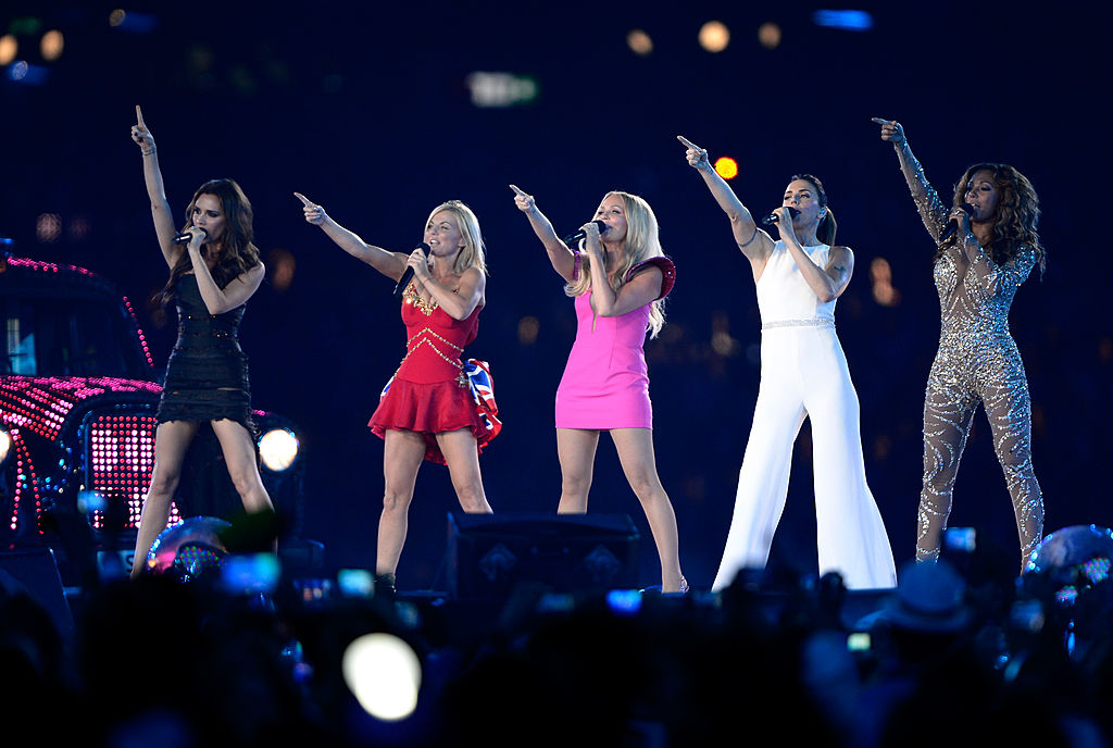 Remember when the Spice Girls blew our minds at the 2012 Olympics? Because we're still not over it