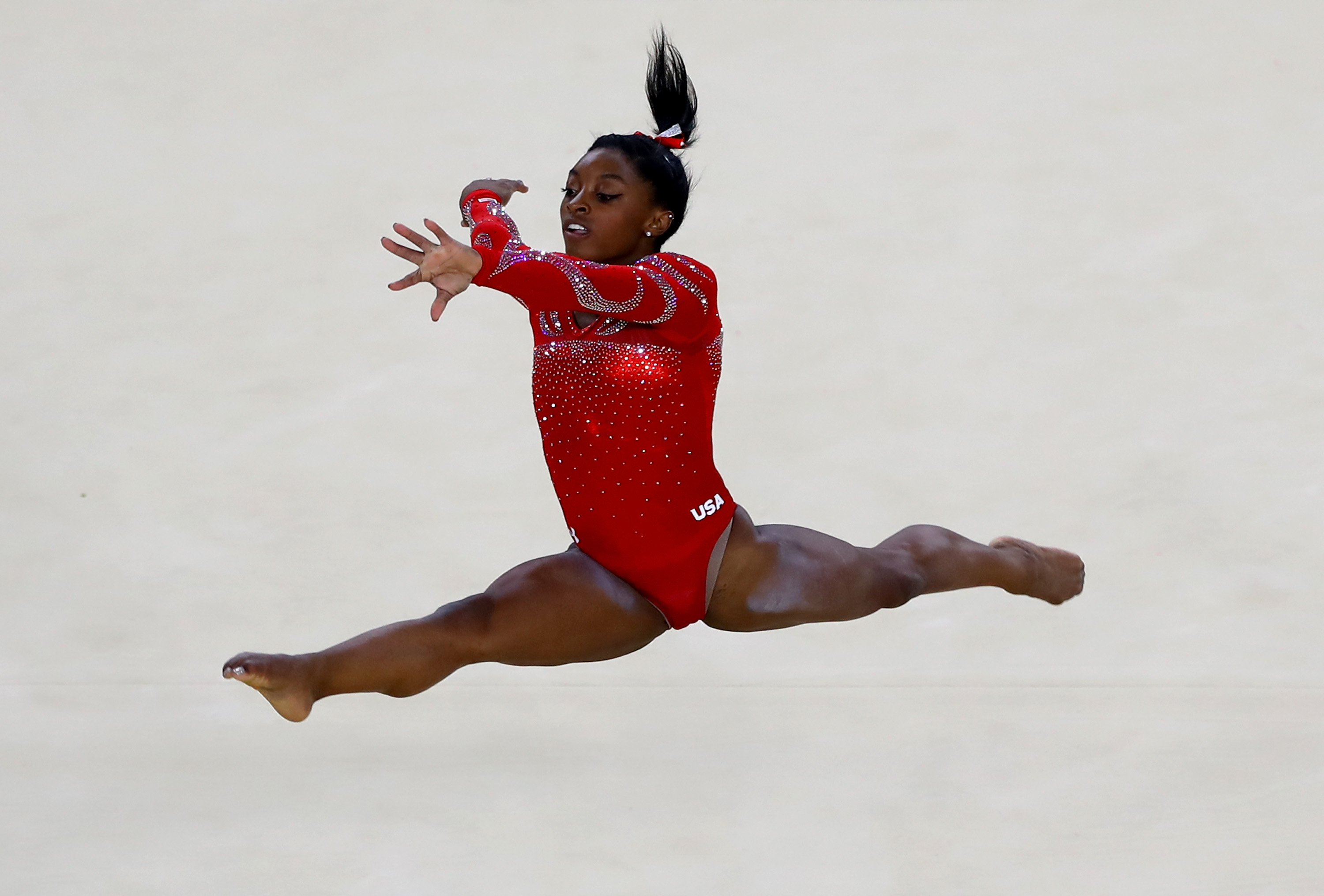 This video shows why Simone Biles might just be the best gymnast in history
