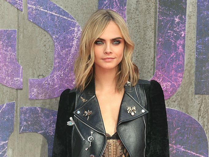 "Ouch, Cara Delevingne totally injured herself on set of ""Suicide Squad"""