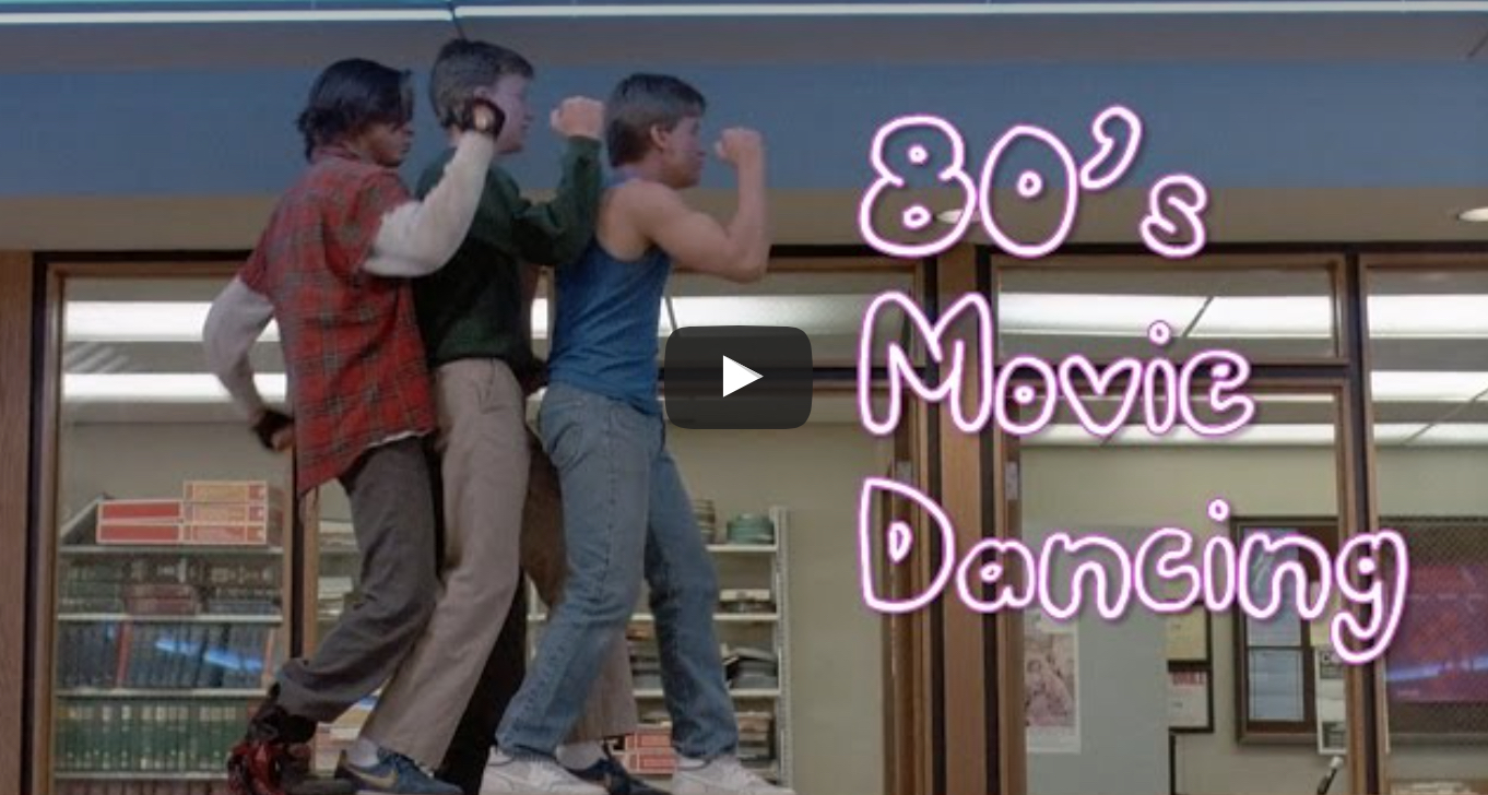 This is making our Friday: Someone created a mashup of '80s movie dance scenes