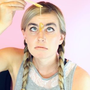 Here's what happens when you try to wax your own eyebrows at home