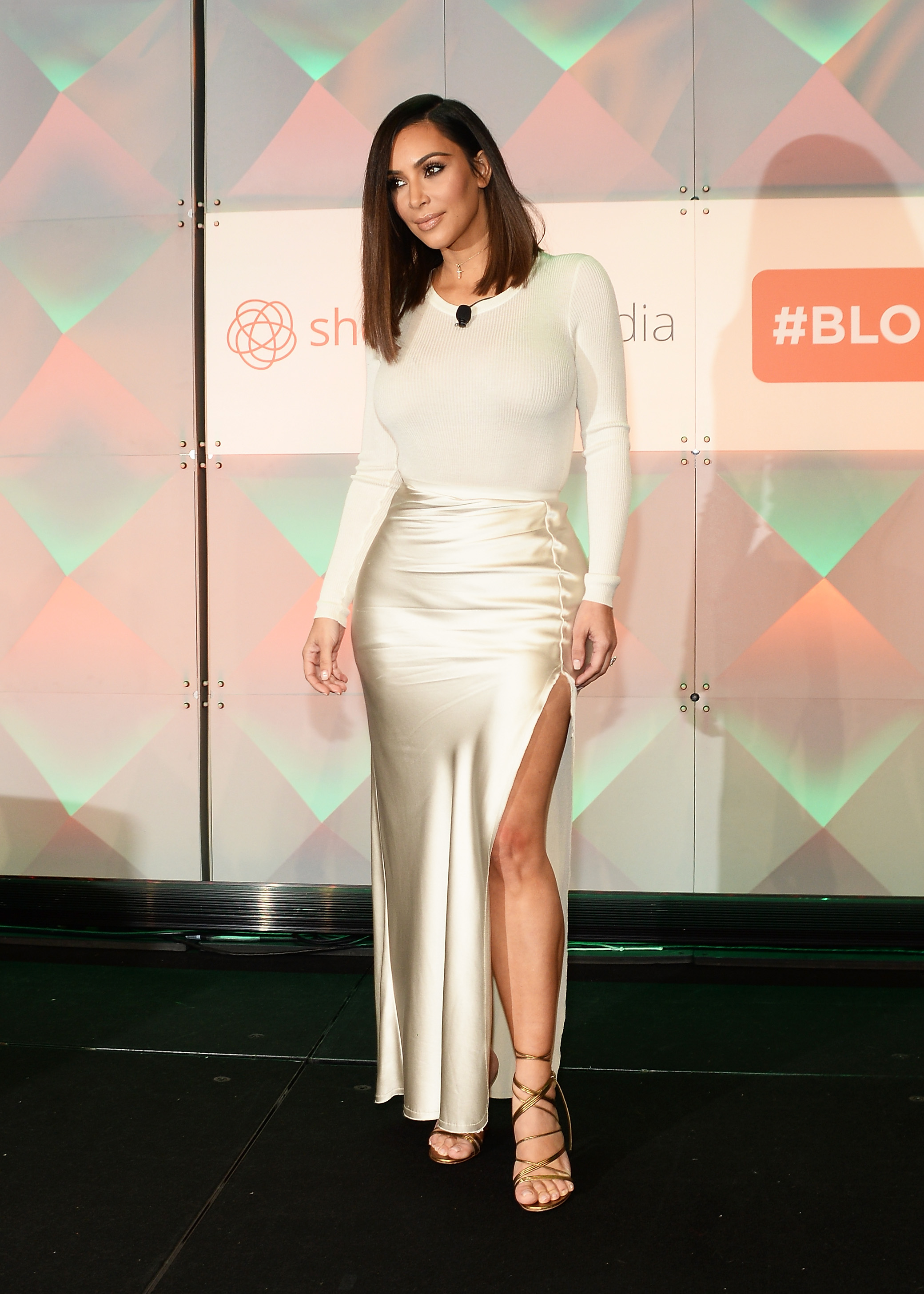 kim kardashian just broke all the fashion rules and wore a