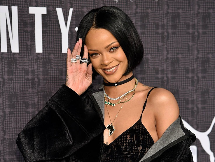 Rihanna's sold-out furry Puma slides are back with a brand new color