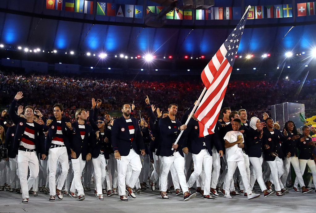 Which teams won gold for fashion at the Olympic Opening Ceremony?