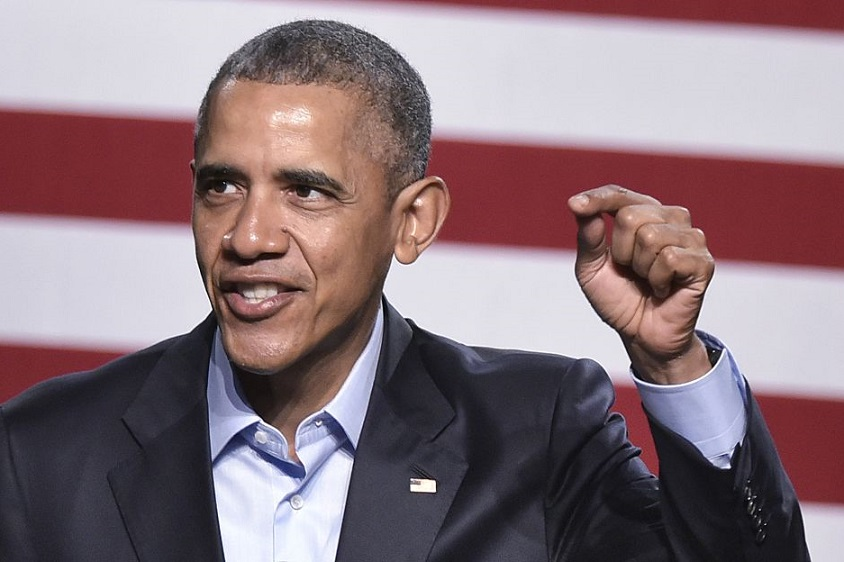 President Obama got hyped for his DNC Speech with a serious power rap