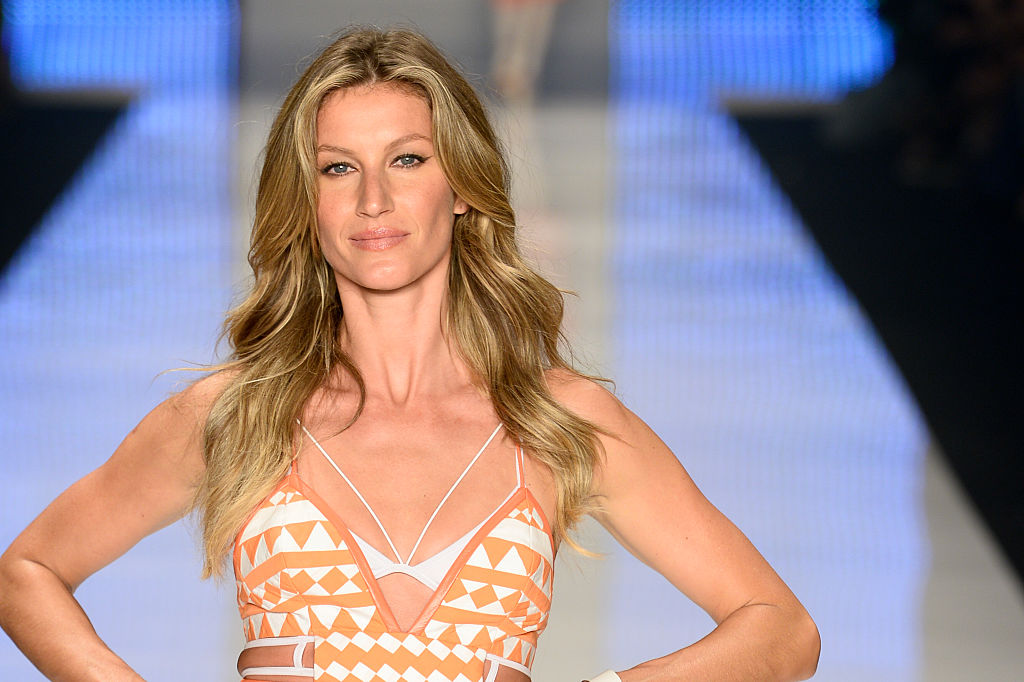 Gisele just walked the most incredible runway we've ever seen at the Olympics