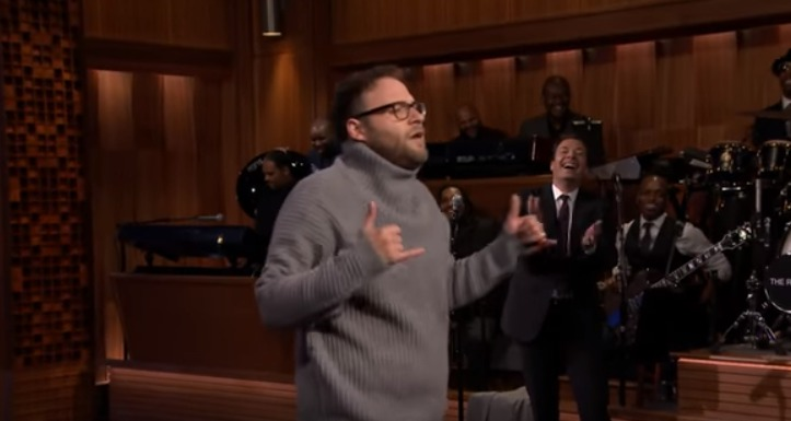 Seth Rogen pretending to be Drake is something you're going to need to see right now