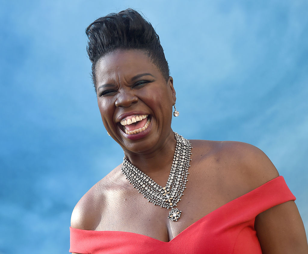 Leslie Jones is all of us freaking out about the Olympics