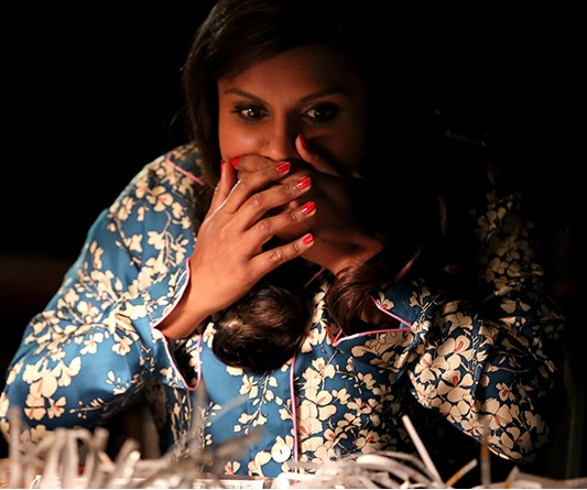 "Mindy Kaling just got the most incredible gift from a ""Mindy Project"" intern"