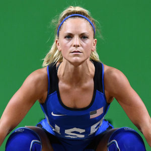 This female Olympian just set an INSANE new record