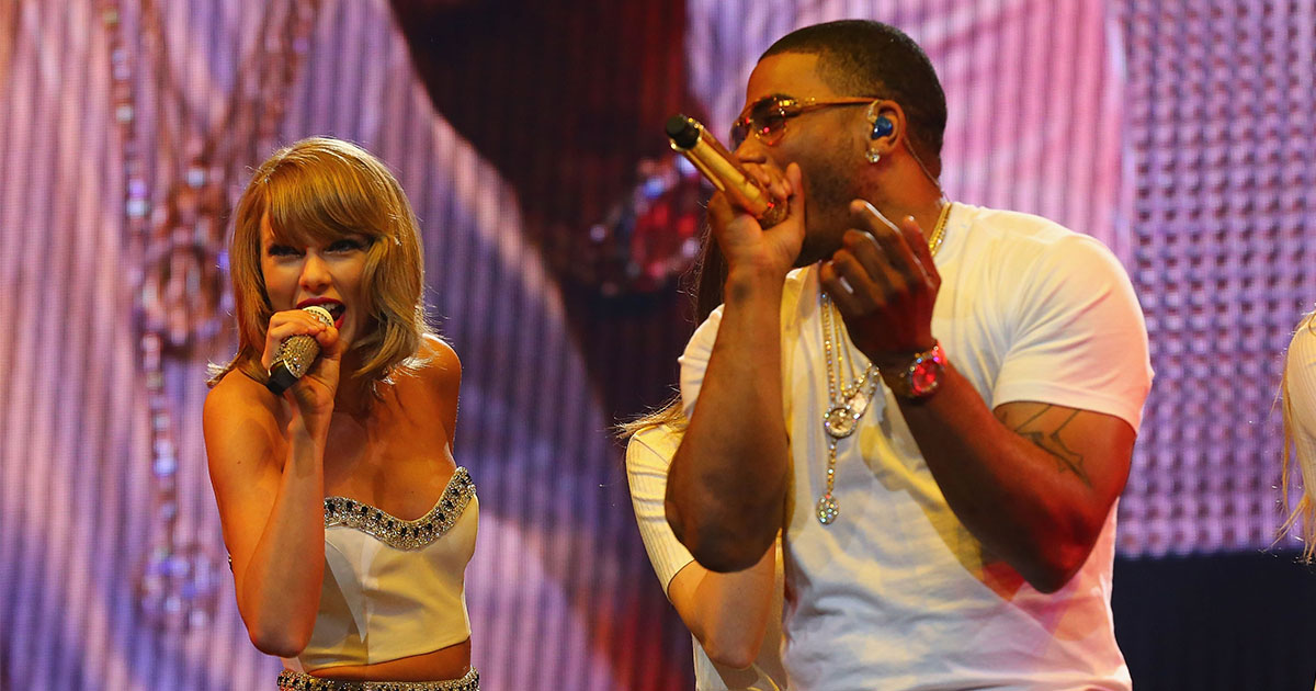 """Hold the phone! Taylor Swift and Nelly just performed """"Dilemma"""" together and it's everything"""