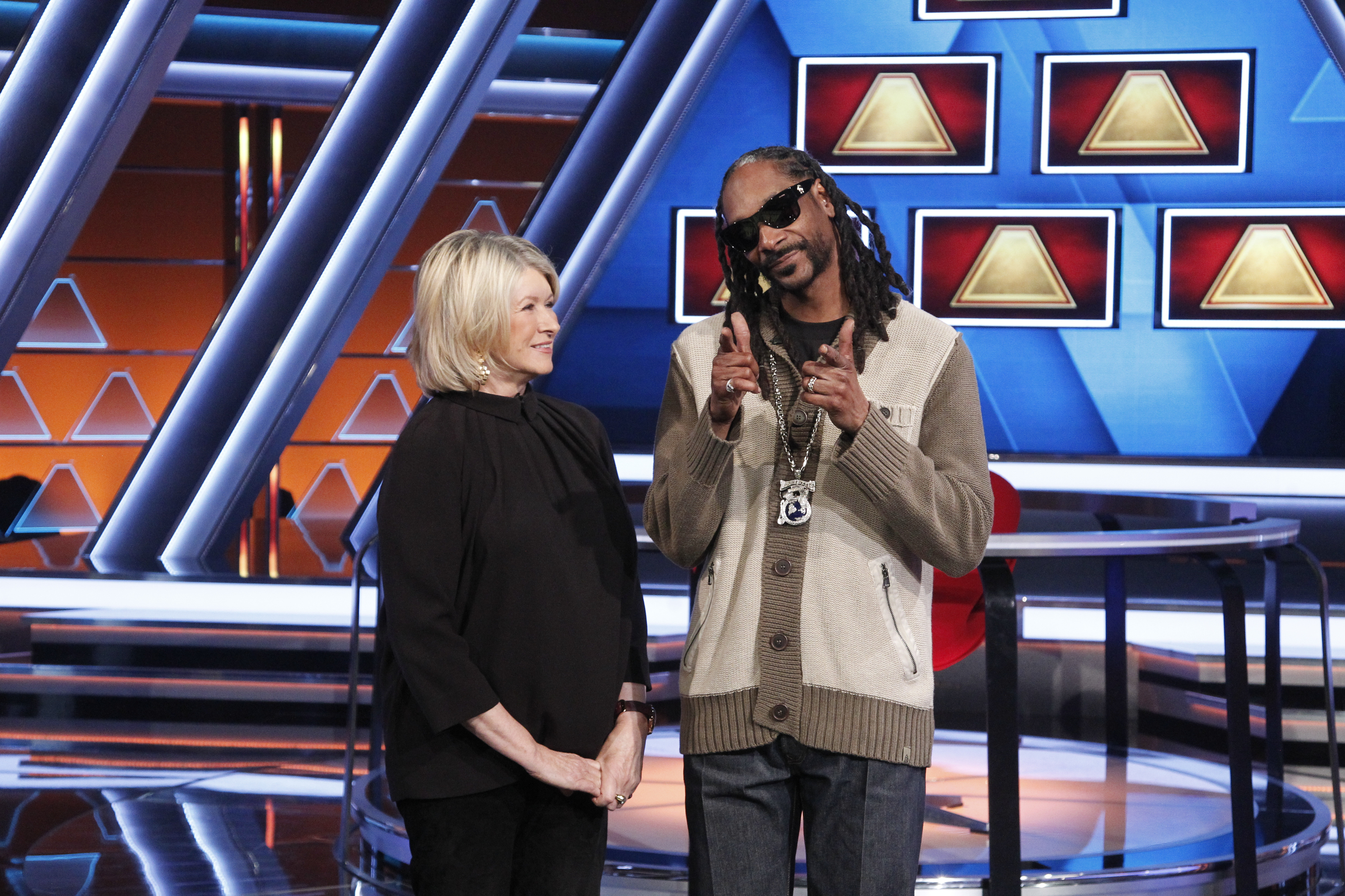 So, Martha Stewart and Snoop Dogg are going to have a TV show together and that's amazing