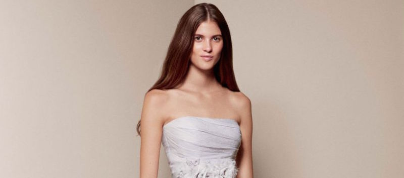 The #1 best-selling wedding dress at David's Bridal is a flowy dream