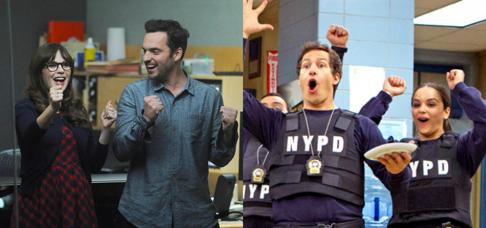 "Television dreams come true! ""New Girl"" and ""Brooklyn Nine-Nine"" are doing a crossover episode!"