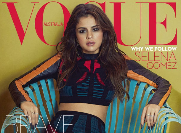 Selena Gomez works this controversial style trend in her Vogue Australia cover