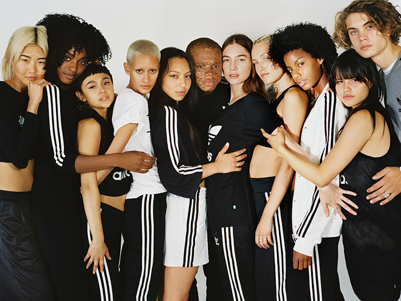 The Adidas x Urban Outfitters collab has everything for your health goth needs