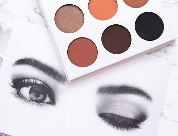 Kylie Jenner gives a sneak peek of new eyeshadow palettes