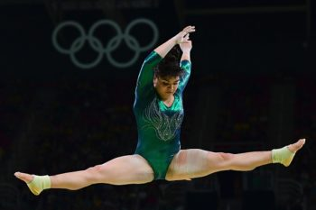 When people body-shamed this amazing Mexican gymnast at the Olympics, Twitter beautifully defended her