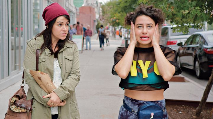 """Broad City's"" Abbi and Ilana posted face mask #werk pics, because they get it"