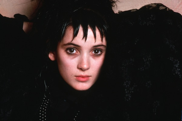 "This is what Winona Ryder thinks about her ""goth icon"" status"