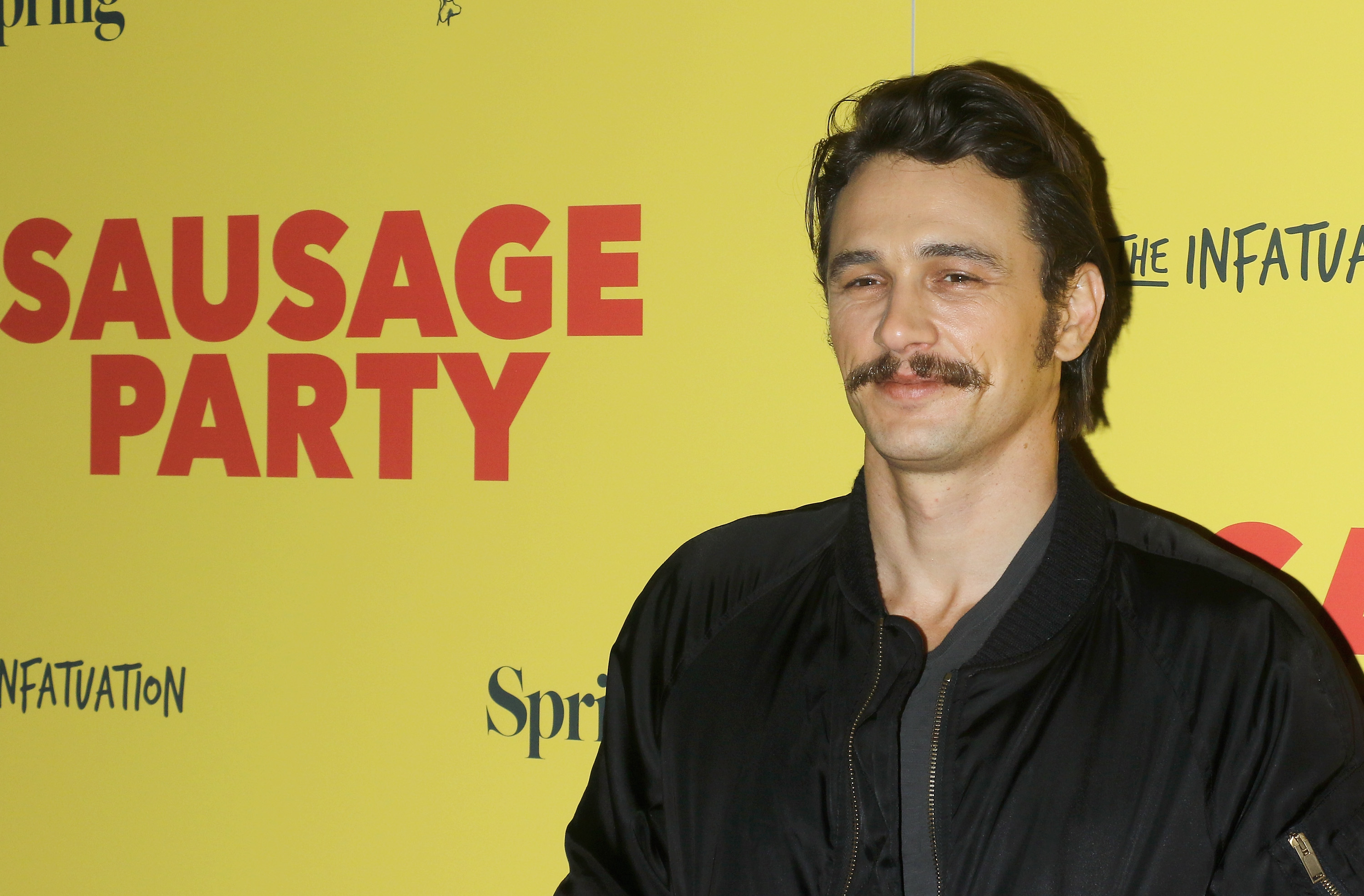 James Franco has neon ombré hair now and it's strangely working for us