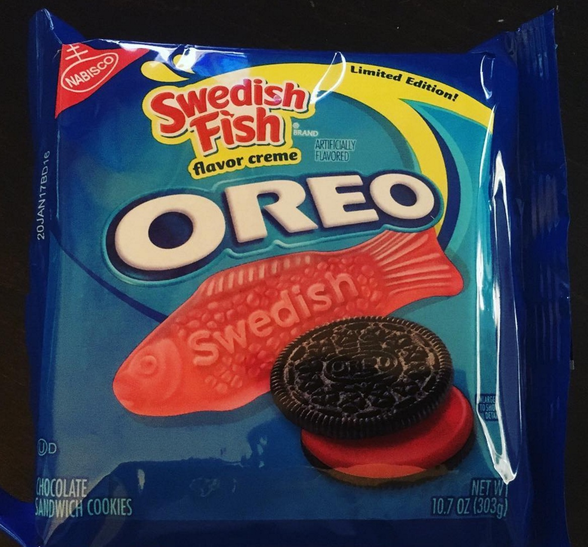 There's a new Oreo flavor and we *think* it sounds delicious