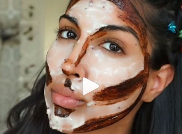 """This beauty vlogger made a """"contour mask"""" without using makeup"""