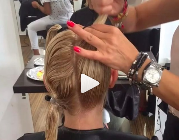 You won't believe the way this woman's hair was cut