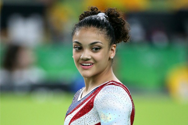 This video of baby Laurie Hernandez doing a floor routine is KILLING US