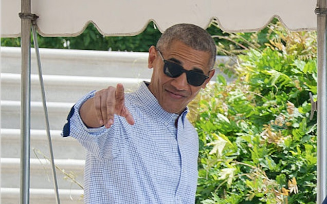 OMG Obama just went total #healthgoth and we love it