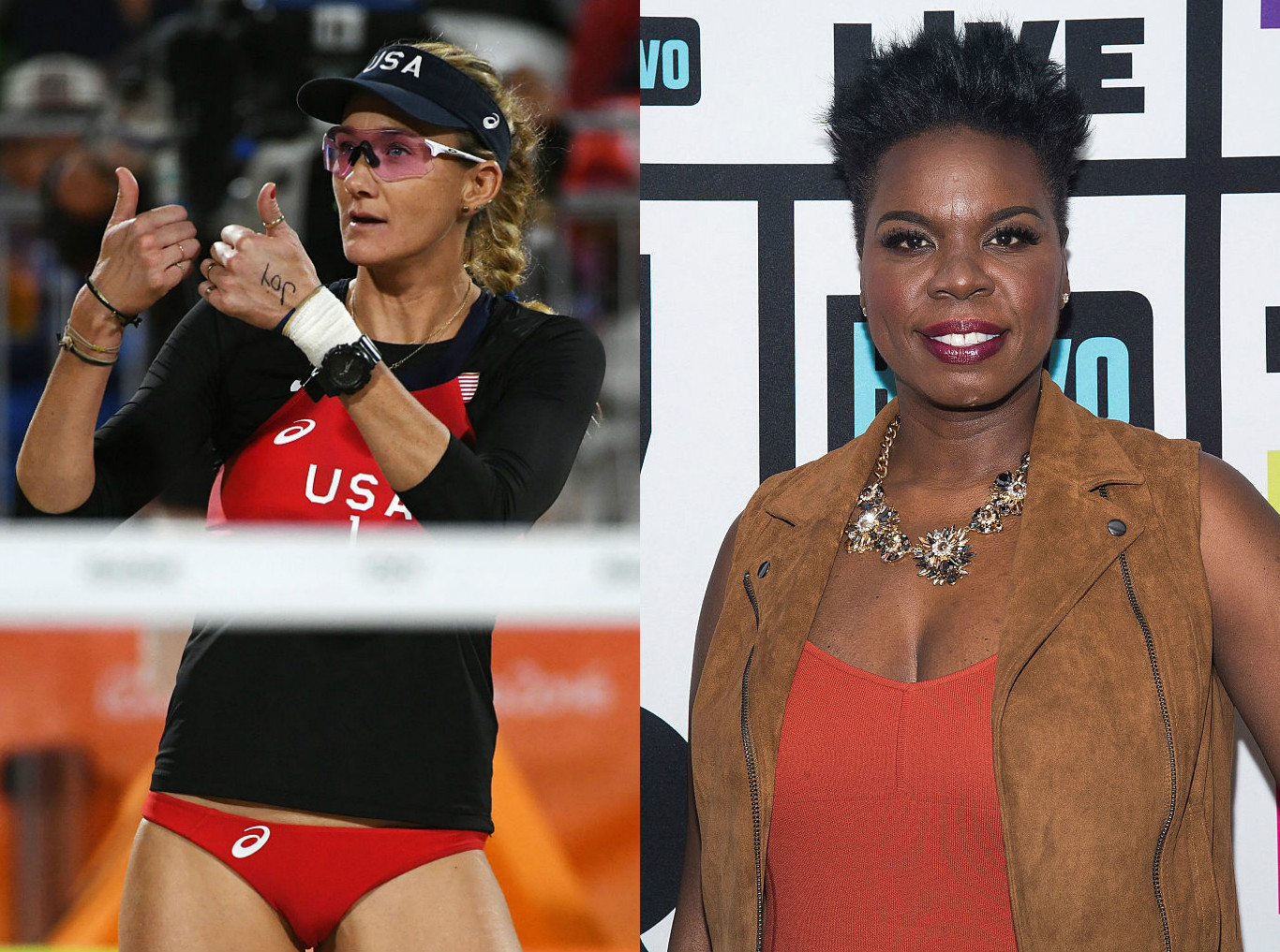 Leslie Jones and this mega Olympian fangirled over each other on Twitter and now they're BFFs