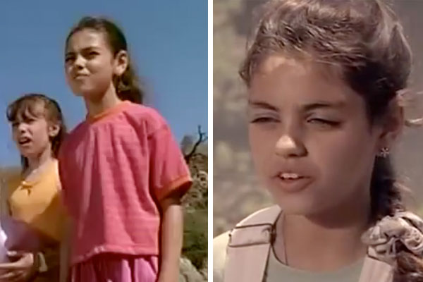 "Mila Kunis was so good on ""Baywatch"" that they had her on TWICE"