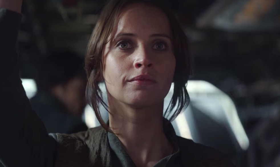 """7 moments from the """"Rogue One"""" trailer that made you scream YAS GIRL POWER"""