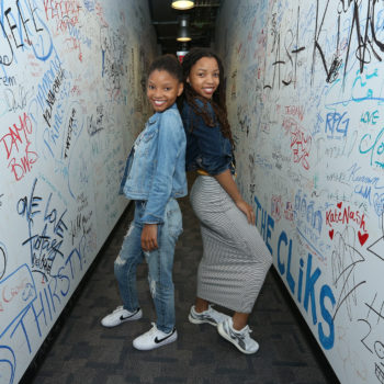 Chloe x Halle, Beyoncé's proteges, spill the dirt on hanging out with Blue Ivy
