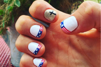 Nailing it at the Olympics: Team USA athletes show off patriotic nails at the Games