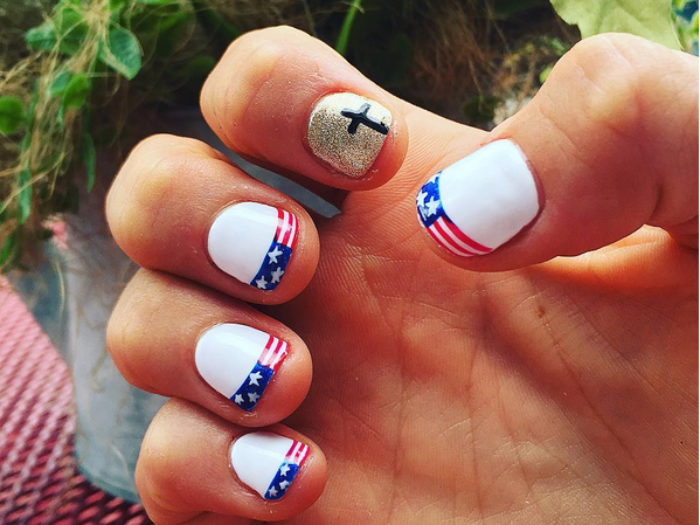 Nailing it at the Olympics: Team USA athletes show off patriotic nails ...