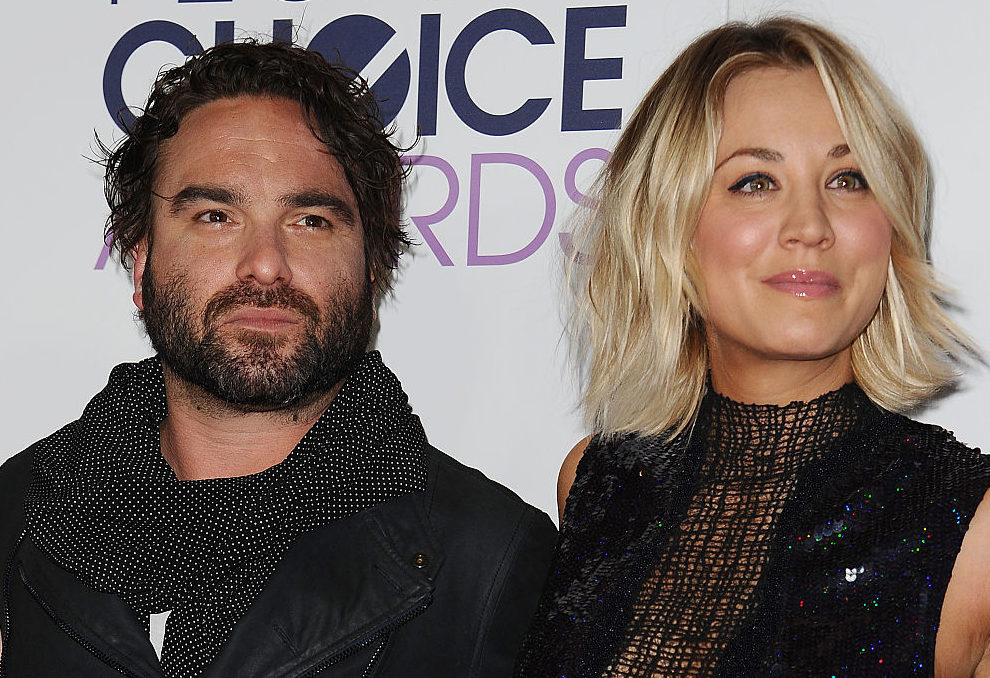 """The Big Bang Theory's"" Kaley Cuoco and Johnny Galecki celebrate the best news ever"