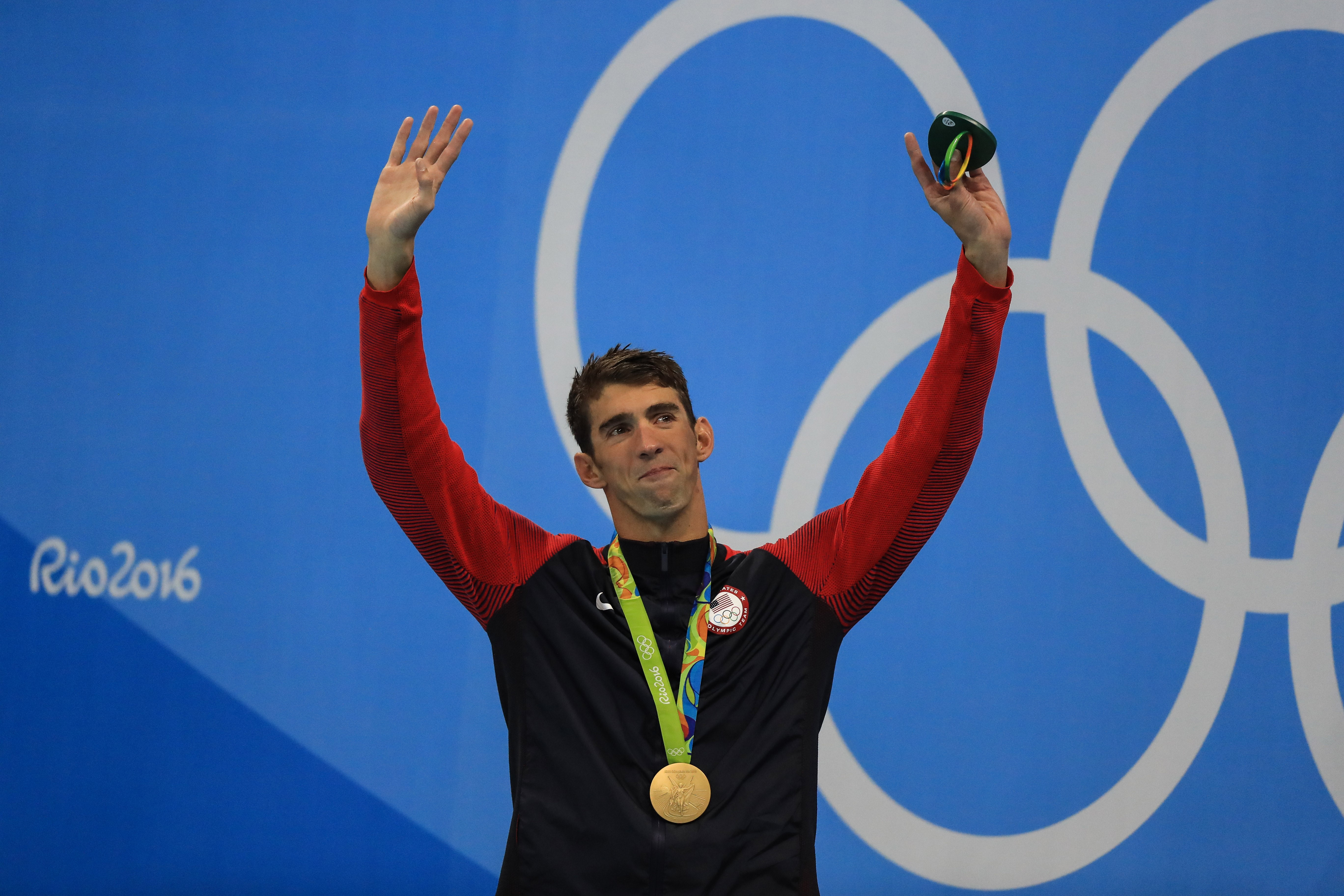 This Olympic swimmer bows down to Michael Phelps, and yeah, we agree