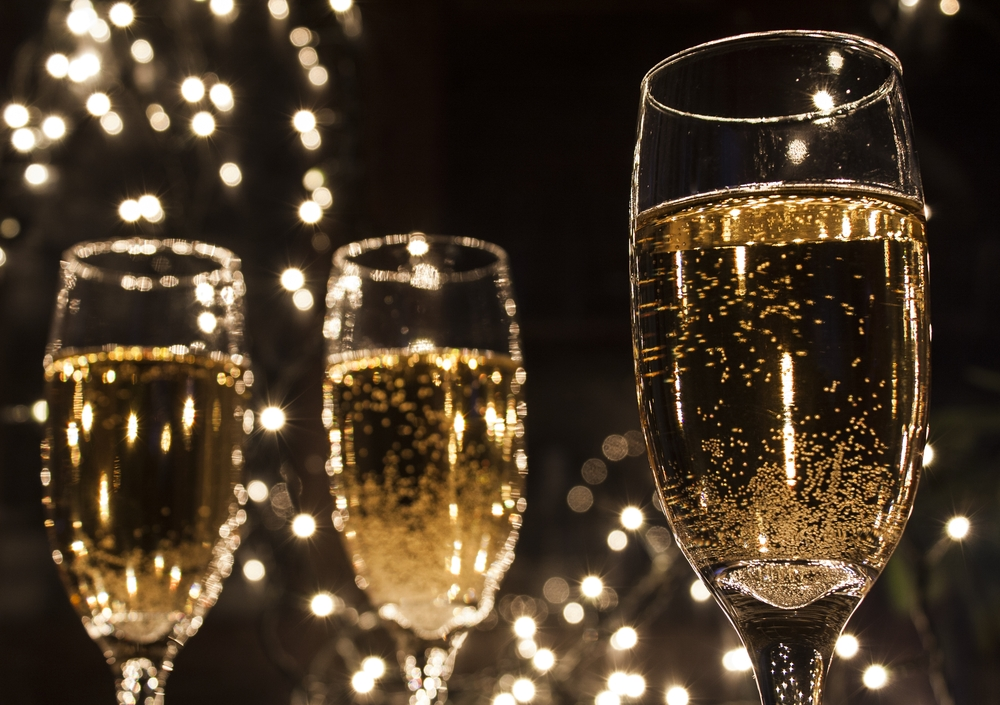 Um...we're facing a global champagne shortage and WE'RE FREAKING OUT