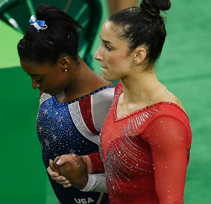 Simone Biles and Aly Raisman are #bestfriendgoals after winning their Olympic medals