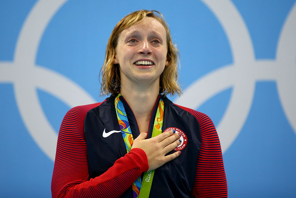 These photos of Katie Ledecky are completely surreal