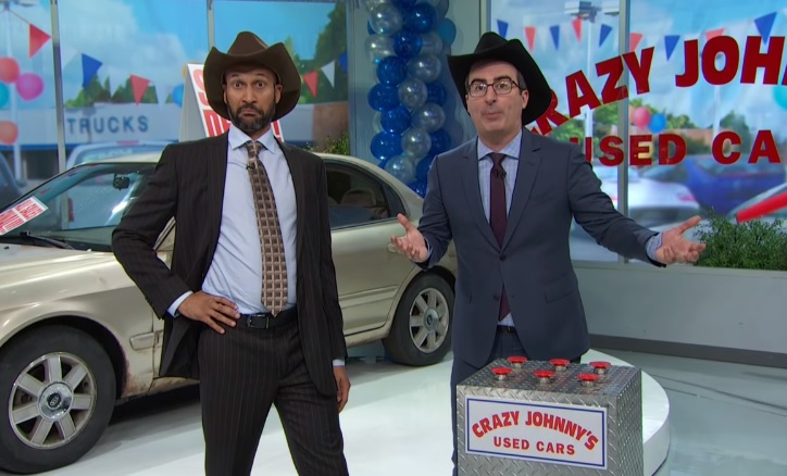 John Oliver and Keegan-Michael Key taking down shady used car dealers is so hilarious