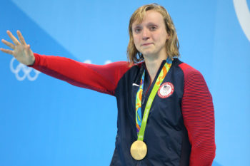 Katie Ledecky's reason for crying on the Olympic podium is making US cry