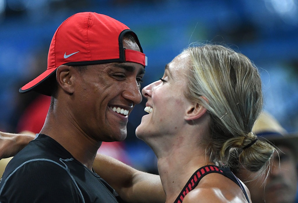 This cross-borders Olympic Track and Field couple will melt your heart