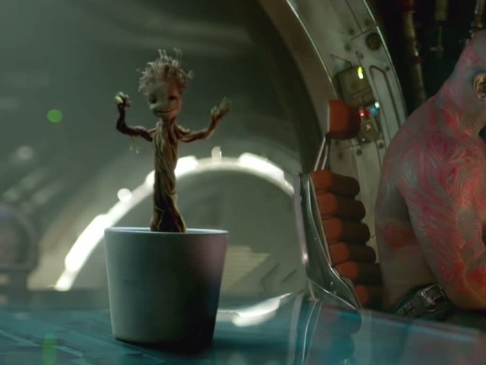 There's a high chance you'll pass out when you see new Baby Groot, because he's just THAT cute