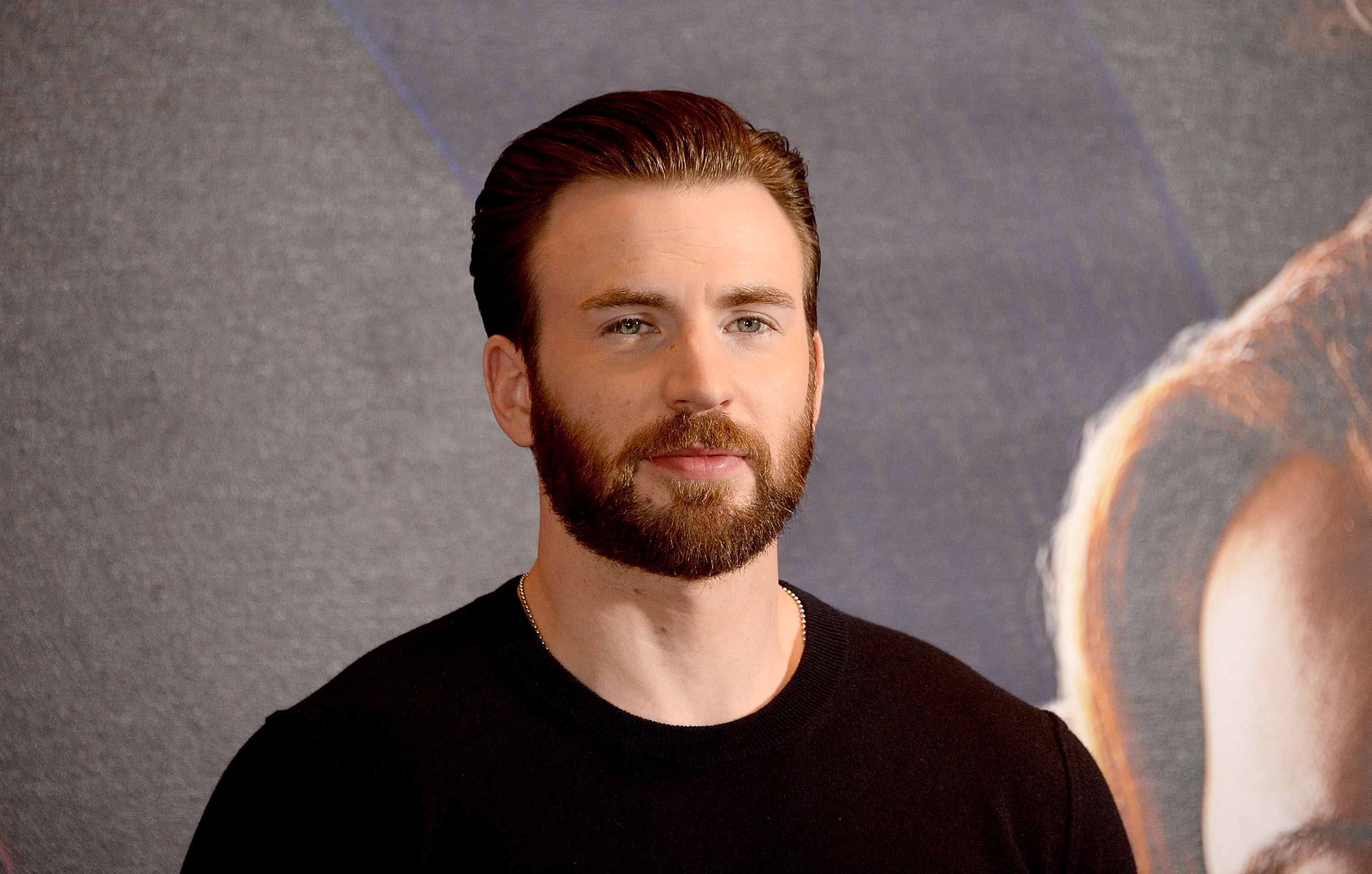 Chris Evans does pushups with his dog, and we're all winners