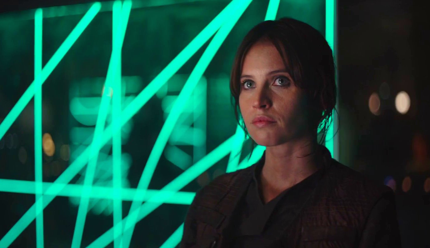 "The international ""Rogue One"" trailer has way more footage, and OMG"